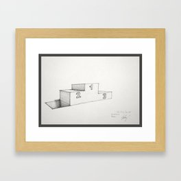 Loosers Framed Art Print