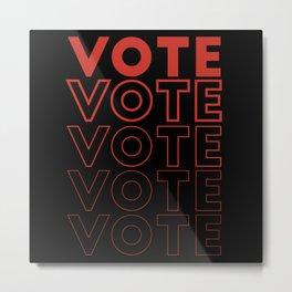Vote 2020 T Shirt Metal Print
