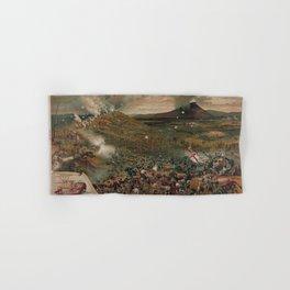 Battle of Mission [Missionary] Ridge Nov. 25th 1863 Hand & Bath Towel