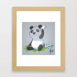 Panda in my FILLings Framed Art Print