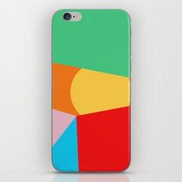 Circle Series - Summer Palette No.1 iPhone Skin