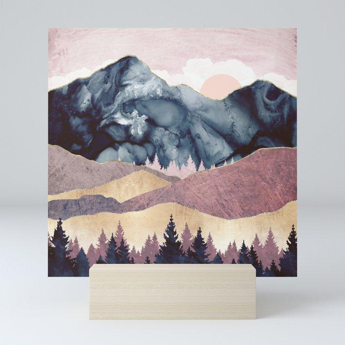 Mauve Vista Mini Art Print