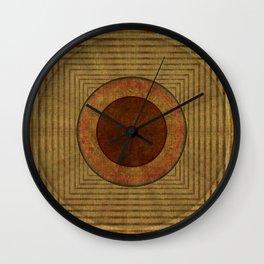 """Golden Circle Japanese Vintage"" Wall Clock"