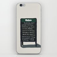 madrid iPhone & iPod Skins featuring Madrid by qteln
