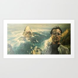 The Moment of Realization Art Print