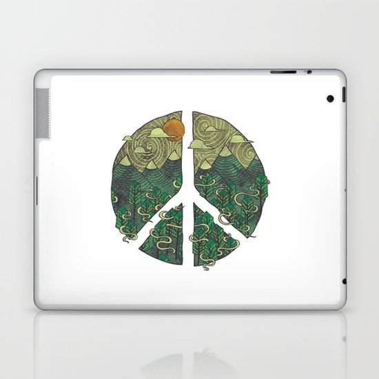 Peaceful Landscape Laptop & iPad Skin