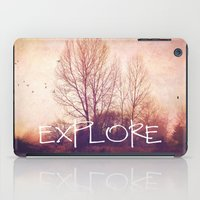 explore iPad Cases featuring explore by Sylvia Cook Photography