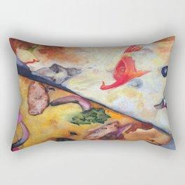 Pizza Lovemaking (LARGER SIZES) Rectangular Pillow