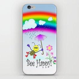 Bee Happy iPhone Skin