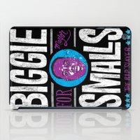 biggie smalls iPad Cases featuring Biggie Smalls for Mayor v.2 by Chris Piascik