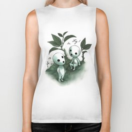 Natural Histories - Forest Spirit studies Biker Tank