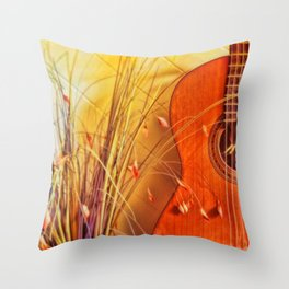 Unplayed Melody Throw Pillow