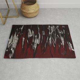 Raging Red Rug