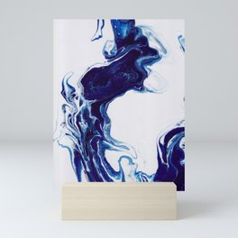 Blue (3 of 3) Mini Art Print