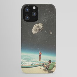Summer with a Chance of Asteroids iPhone Case