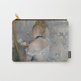 Woman at Her Toilette, 1875/80, Berthe Morisot Carry-All Pouch