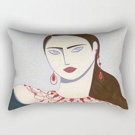 She Moves Rectangular Pillow