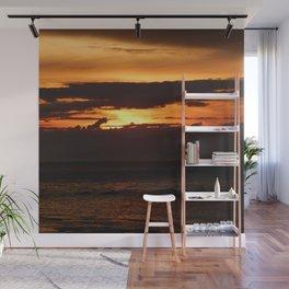 Sunset Shadows Wall Mural