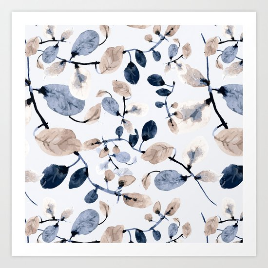 LEAVES 22 Art Print