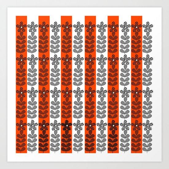 Pattern H8 Art Print