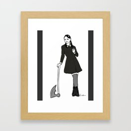 creepy and kooky Framed Art Print