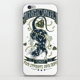 Midnight Vandals iPhone Skin