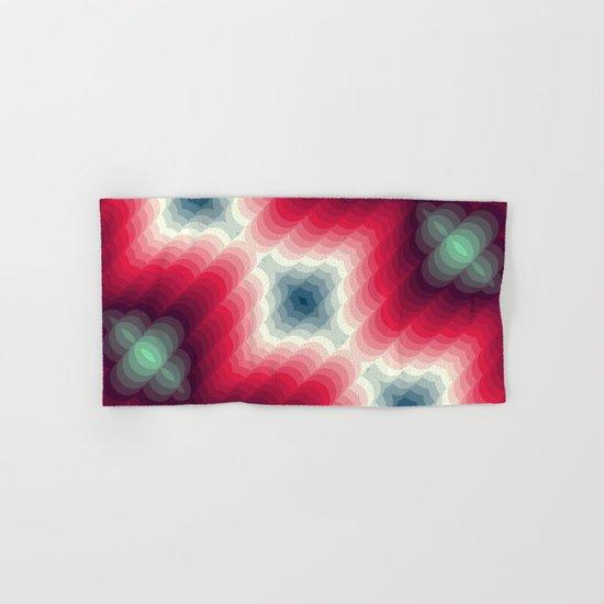 Optical Effect Hand & Bath Towel