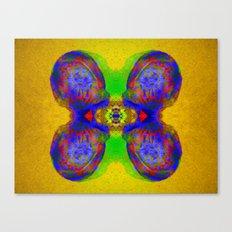 Rorschach Test - Sir Parker Canvas Print