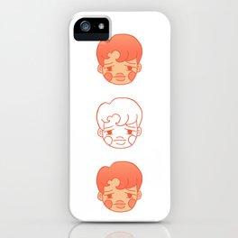 sleepy jongins iPhone Case