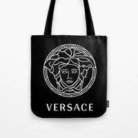 versace Tote Bags featuring versace by  Can Encin