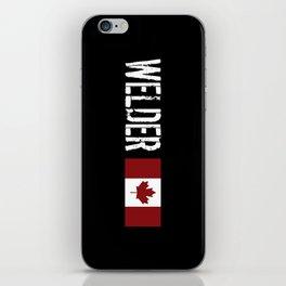 Welder: Canadian Flag iPhone Skin