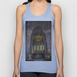 Basilica of Santa Maria, interior Unisex Tank Top