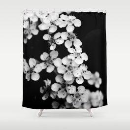 A Cascade of Flowers Shower Curtain