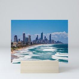 Gold Coast Skyline Mini Art Print