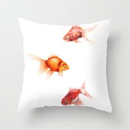 Peces Throw Pillow