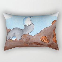 Fossil Dig Rectangular Pillow