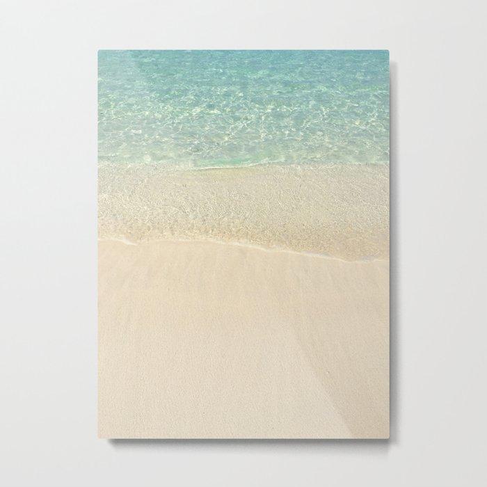 Beach Please! Metal Print