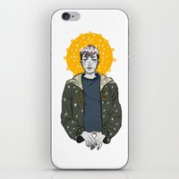 kieren walker iPhone & iPod Skins featuring Kieren Walker by timeflashh