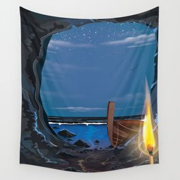 Smugglers Cave Wall Tapestry