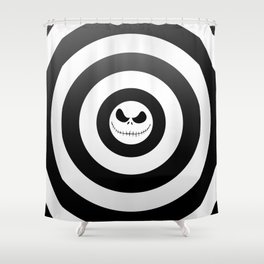 Jack Skellington Nightmare Before Christmas Shower Curtain