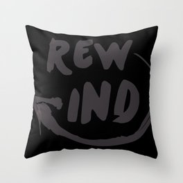 Rewind Throw Pillow