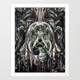 Moist Art Print