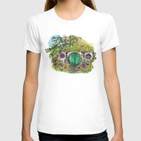 the hobbit T-shirts featuring Hobbit hole by Kris-Tea Books