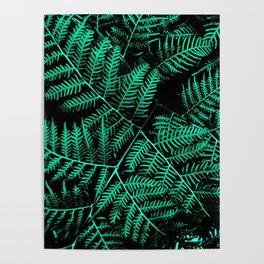Mint Bracken Poster
