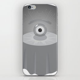 clairvoyant glance iPhone Skin