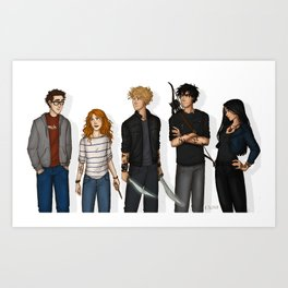 City of Bones Art Print