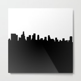 Los Angeles Shadow Metal Print