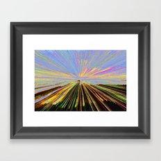 0255 bent Framed Art Print