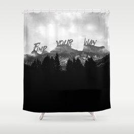 Wisdom of Nature Shower Curtain