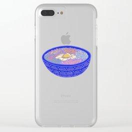 Bibimbap Bowl Clear iPhone Case